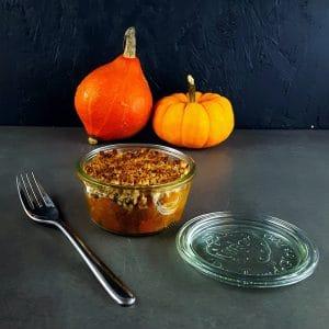 Crumble de légumes d'hiver - recette végétarienne - la cerise sur le maillot