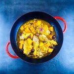 Tajine de poulet aux citrons confits et patates douces - recette tajine - la cerise sur le maillot