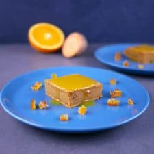Gâteau fondant de patate douce à l'orange