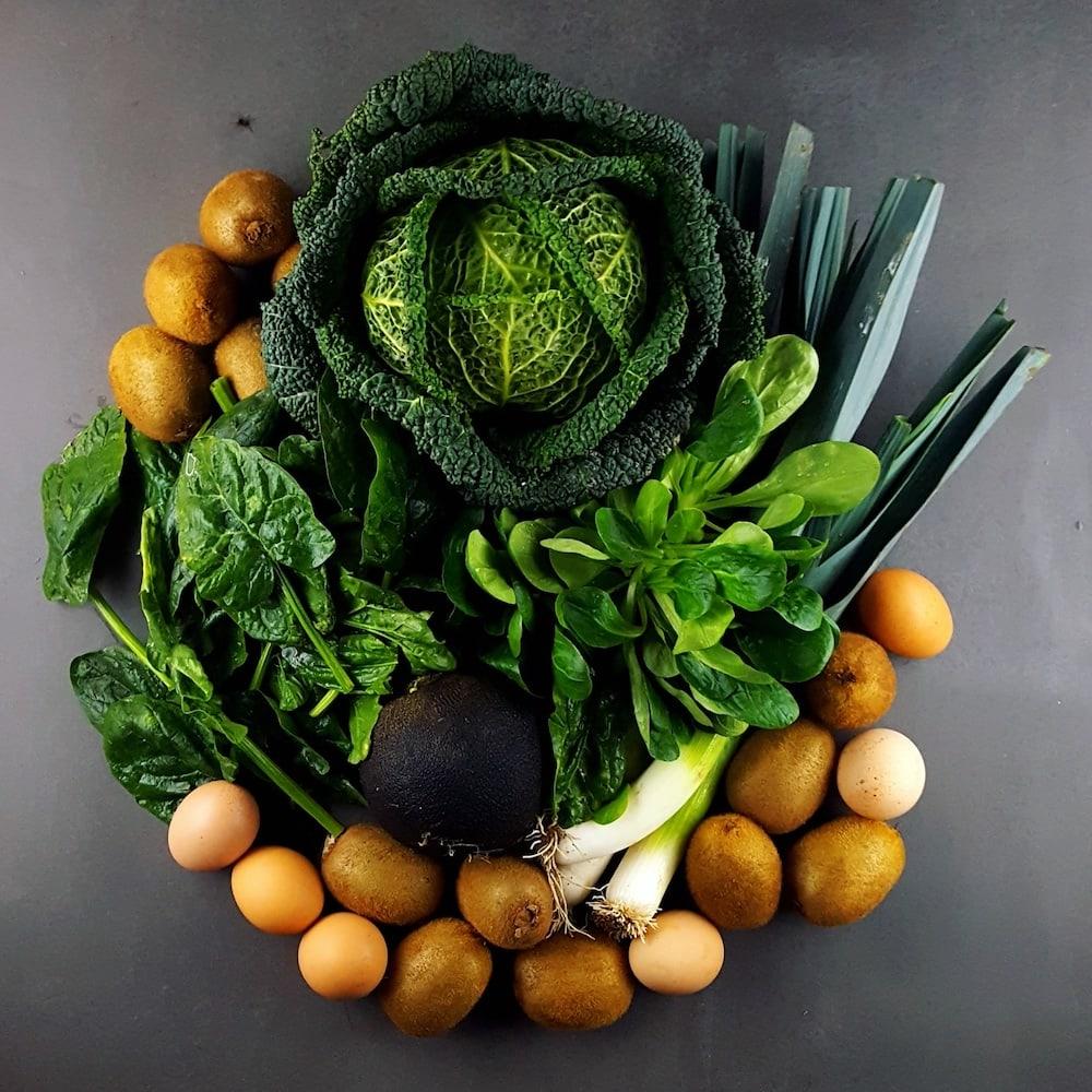 Je mange quoi en février - produits, fruits, légumes de saison - la cerise sur le maillot