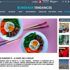 Bordeaux tendances – Création de blogueur – avril 2018