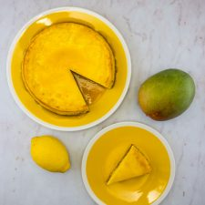 Cheesecake des îles (mangue-coco)