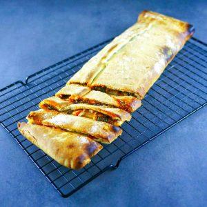 Stromboli tomate-épinards - recette pizza - la cerise sur le maillot