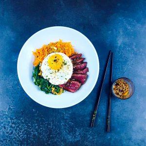 Hotpot coréen au bœuf ou bibimbap - la cerise sur le maillot