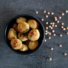Boulettes de pois chiches express