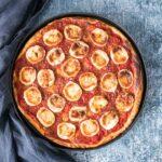 Tarte tomate, chèvre et miel - la cerise sur le maillot