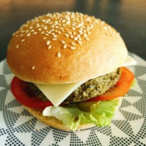 Veggie burger minute</BR> </BR>
