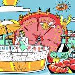 Food Pairing Mort Subite - Le/s Taquin/eries & Le Mirabelle