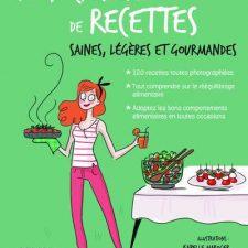 Mon cahier de recettes saines, light et gourmandes