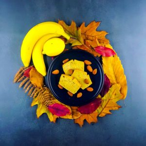 Cake pommes-bananes sans gluten - la cerise sur le maillot