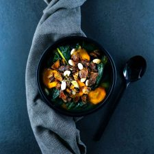 Garbure légère au chou kale