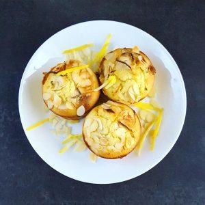 Moelleux amande et citron bien gourmands - la cerise sur le maillot
