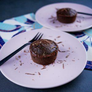 Moelleux au chocolat light (sans beurre ni sucre) - la cerise sur le maillot