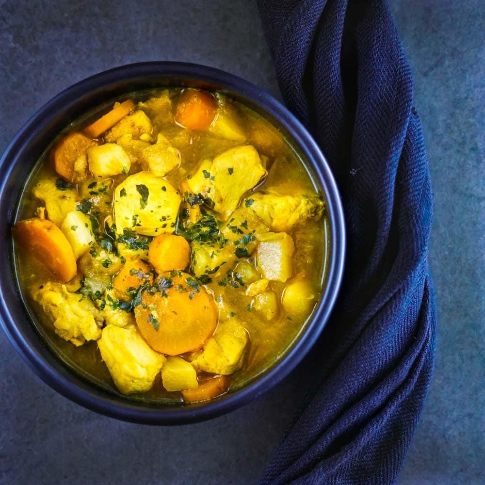 Cocotte de poulet aux légumes et citrons confits - la cerise sur le maillot