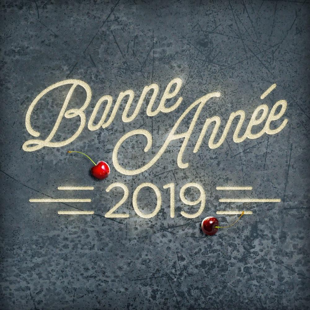 Bonne année 2019 - la cerise sur le maillot