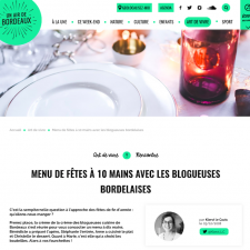 Mon canard aux figues au menu de l'Office de tourisme de Bordeaux