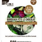 Bordeaux fête le chocolat - Bordeaux le 8 février 2019 - la cerise sur le maillot