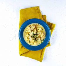 Poulet à l'estragon, moutarde et champignons trop facile et trop bon