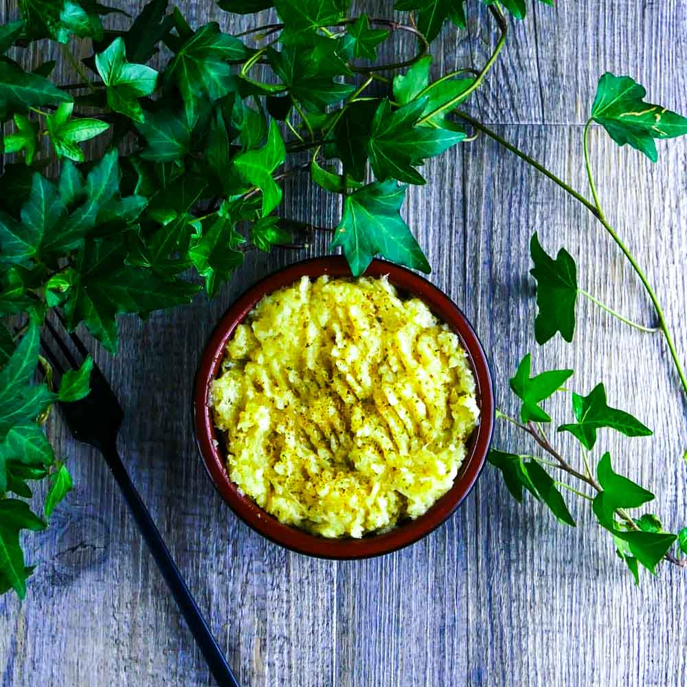 Purée de panais à l'huile d'olive et à l'origan - la cerise sur le maillot