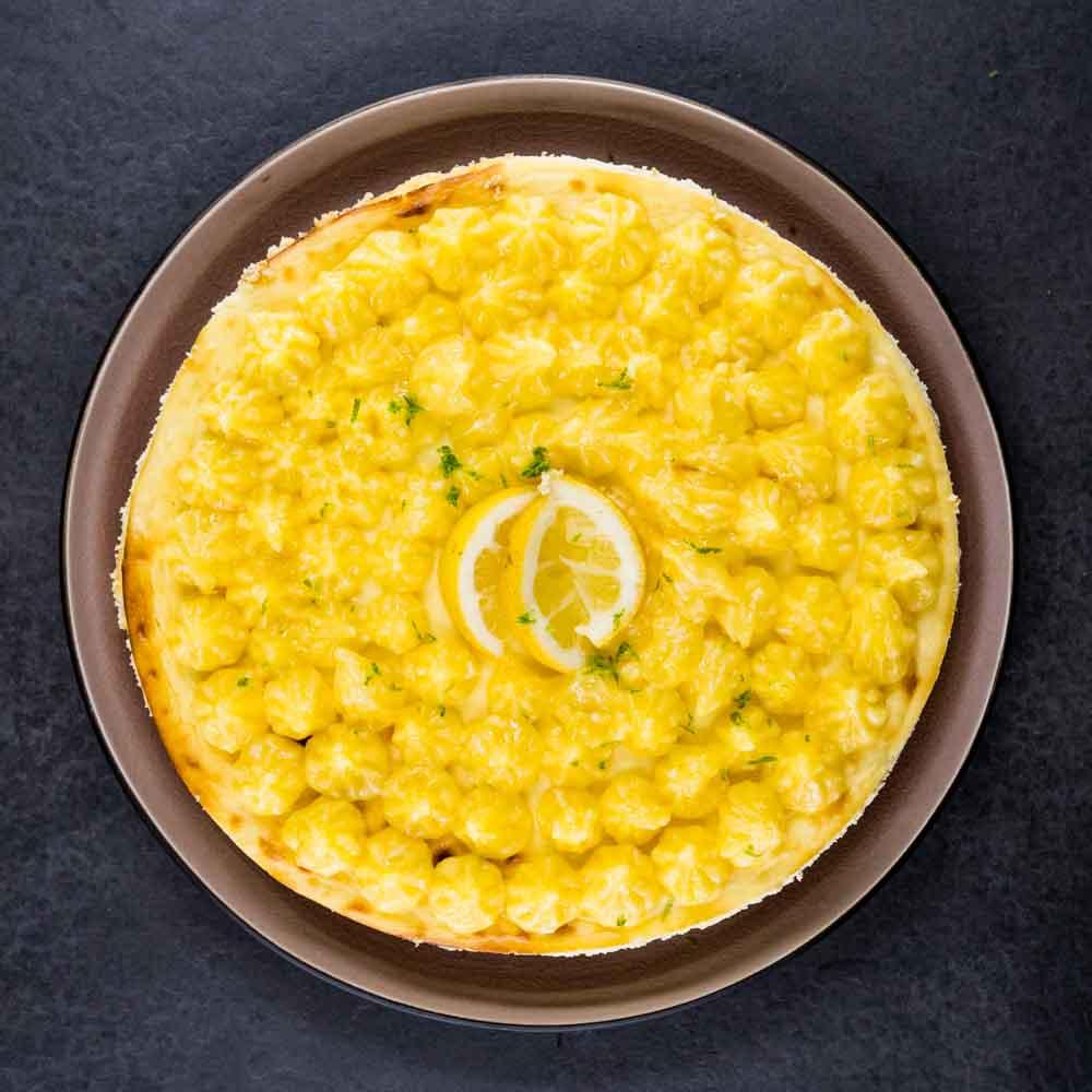 Cheesecake à la ricotta et lemon curd léger aux citrons - la cerise sur le maillot