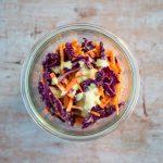 Coleslaw light - recette salade coleslaw - la cerise sur le maillot