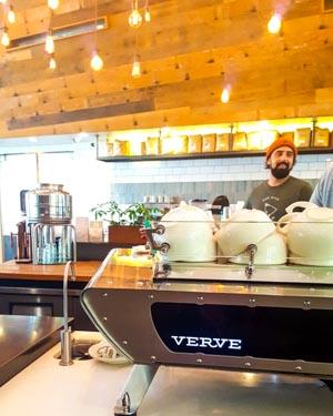 Santa Cruz, un café chez Verve