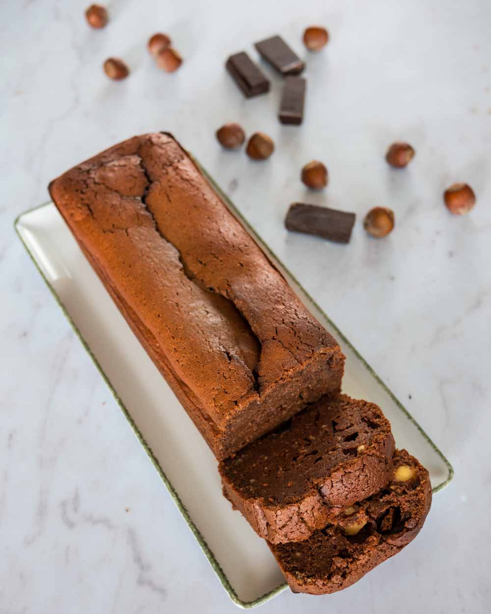 Cake au chocolat et mascarpone (d'après Cyril Lignac) - gâteau sans gluten - la cerise sur le maillot