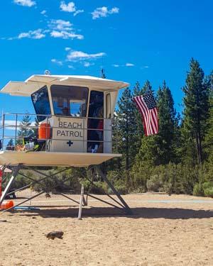 Lake Tahoe - La plage