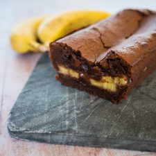 Cake chocolat-banane
