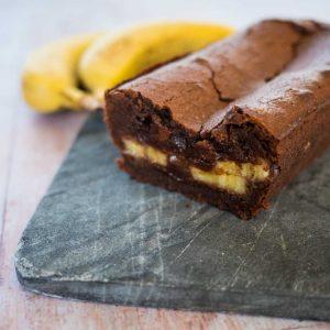 Cake chocolat-banane - recette gateau chocolat - la cerise sur le maillot