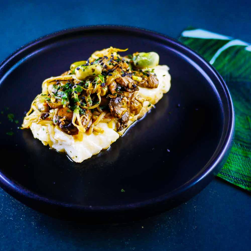 Papillote de cabillaud aux légumes et saveurs d'Asie - la cerise sur le maillot
