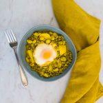 Tajine de printemps aux œufs (végétarien) - la cerise sur le maillot
