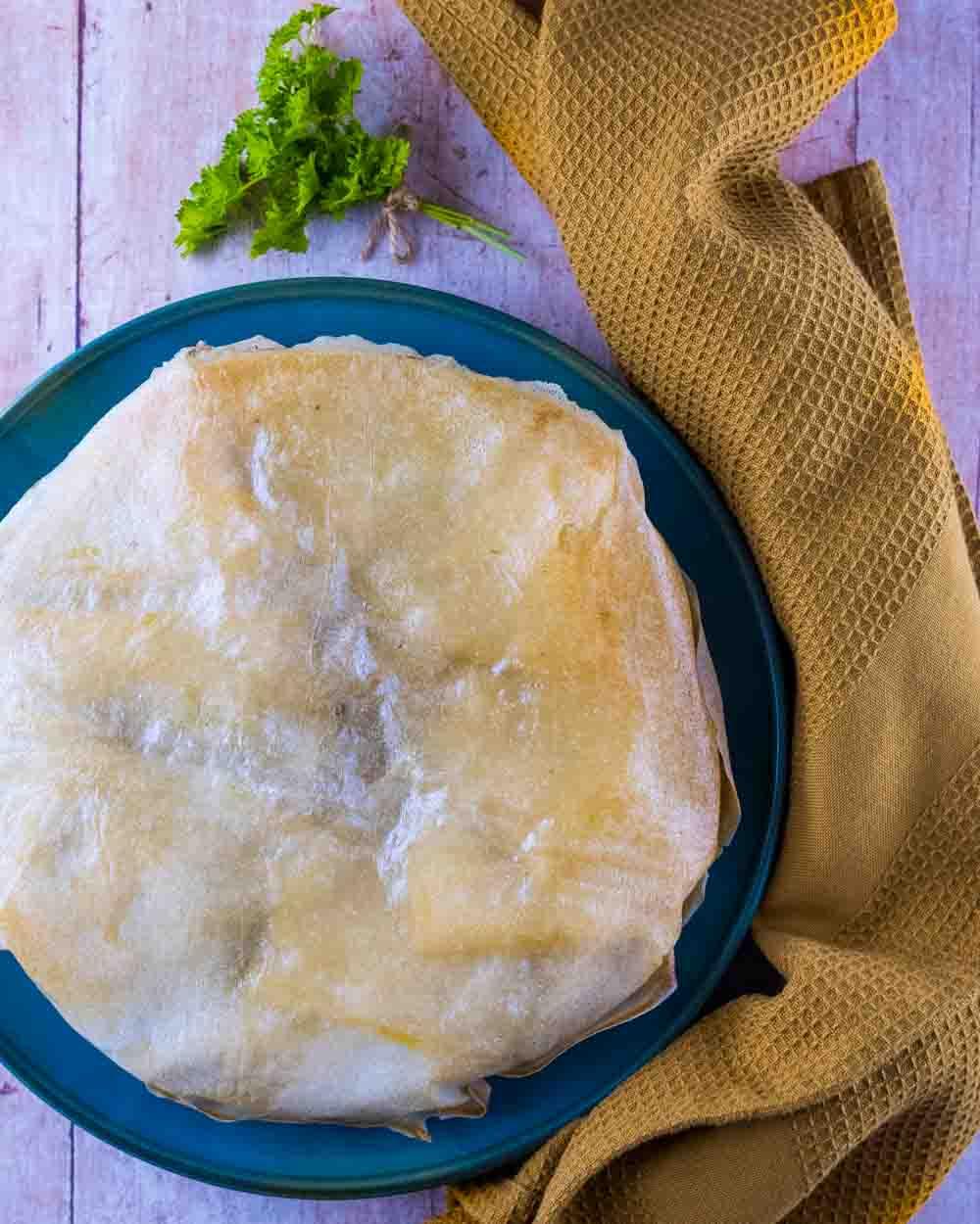 Pastilla au poulet facile à ma façon - la cerise sur le maillot