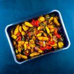 Légumes rôtis aux citrons confits et épices orientales - la cerise sur le maillot