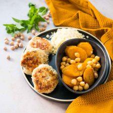 Keftas de poulet et carottes à l'orientale