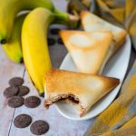 Samoussas choco-banane - la cerise sur le maillot