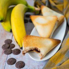 Samoussas choco-banane