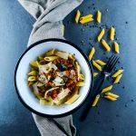 Veggie bolognaise - recette végétarienne facile - La cerise sur le maillot
