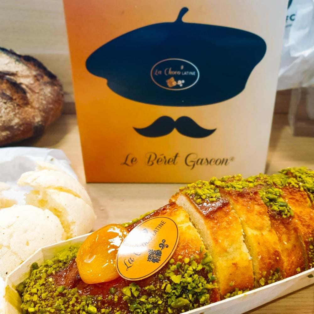 La Choco Latine à Monségur - la cerise sur le maillot