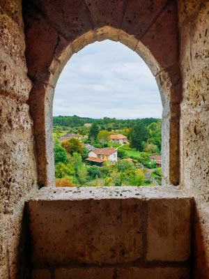 Un week-end en Dordogne - Château de Bourdeilles - la cerise sur le maillot
