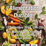 Atelier Citoyen - Débat sur l'alimentation durable