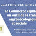 Conférence - Le Commerce équitable, un outil de la transition ?