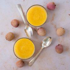 Soupe de fruits exotiques