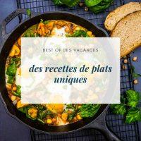 Des recettes de plats uniques - la cerise sur le maillot