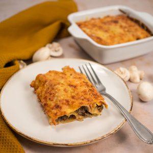 Cannellonis aux champignons et au quinoa - la cerise sur le maillot