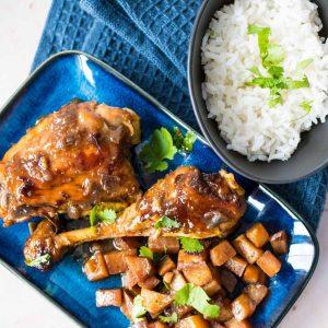 Poulet au gingembre (ga kho gung) - la cerise sur le maillot