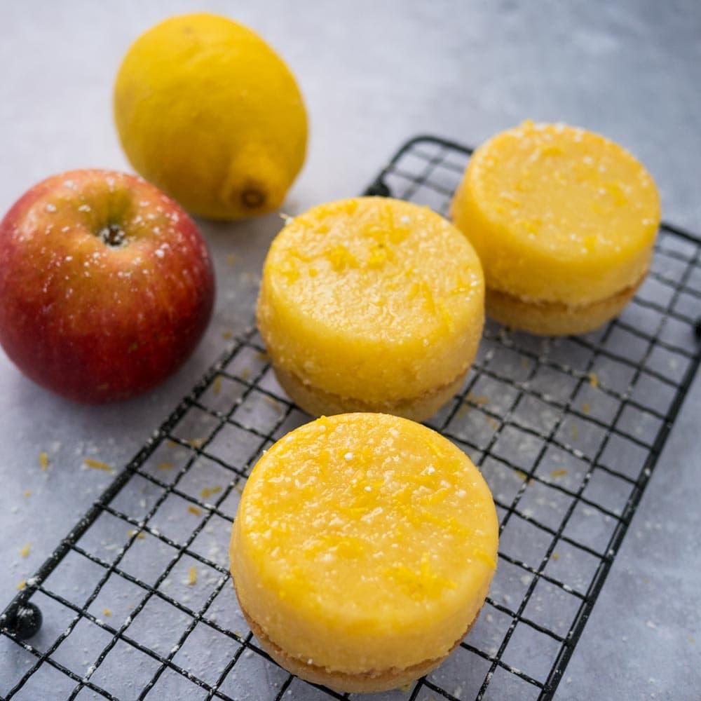Palets pomme-citron - la cerise sur le maillot