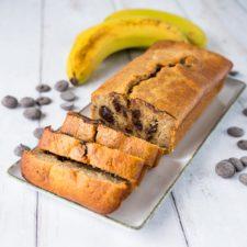 Banana-choco bread