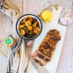 Filet mignon mariné soja-ail-citron - la cerise sur le maillot