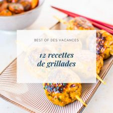 12 recettes de grillades